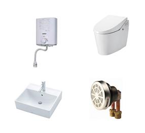 水廻り設備、給排水機器、材料